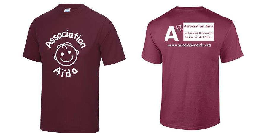 Boutique en ligne - T-shirts Technique - Association Aïda