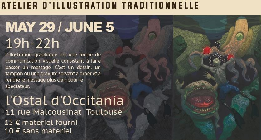 Atelier d'Illustration Traditionnelle - Guayabo Colectivo