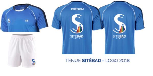 Tenues Sitébad 2018/2019 - sitebad