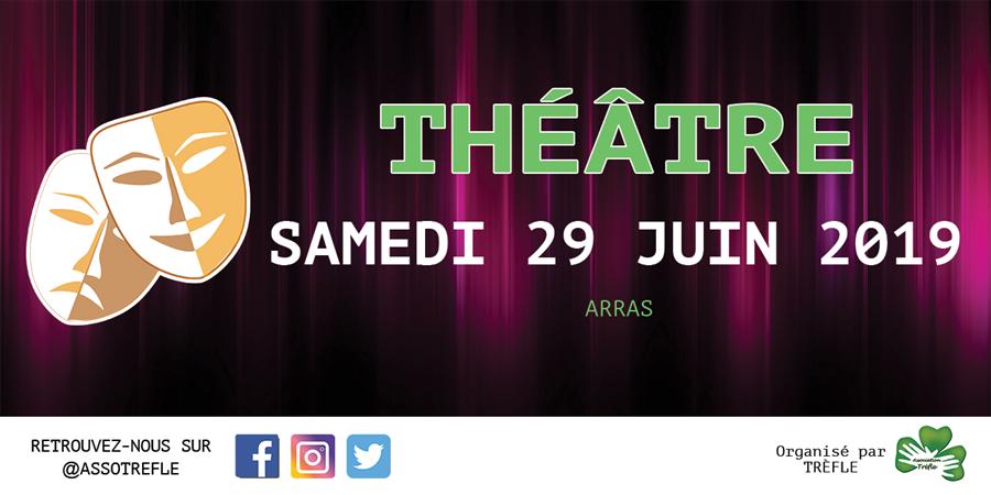 Théâtre - Le choc culturel - Association Trèfle