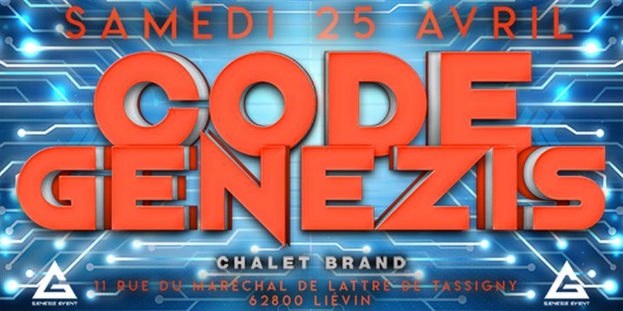 CODE GENEZIS - GENEZIS EVENT