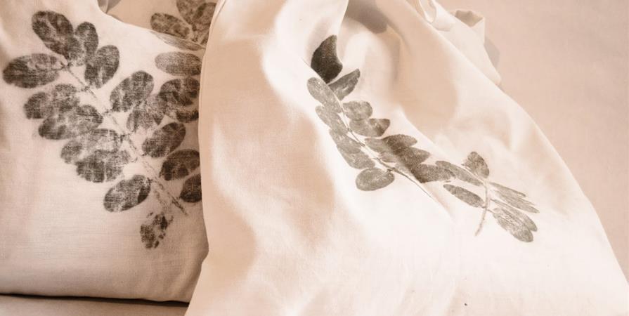 Atelier Fabriqu'O'Naturel : Impressions sur tissu - Bagneux Environnement