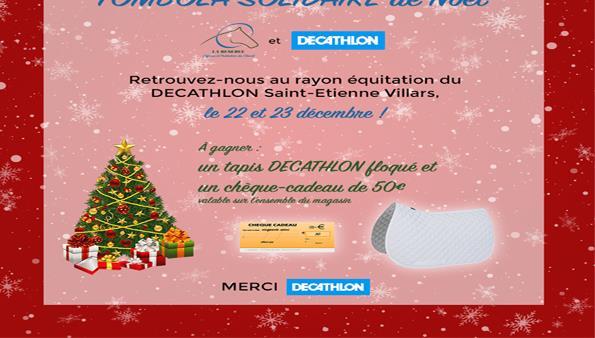 SOLIDAIRE de Noêl LA RESERVE et DECATHLON Villars - LA RESERVE