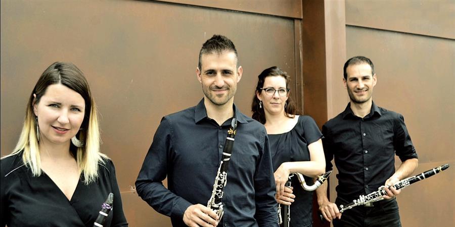 19 juillet 19h30, Cour Mably : Quatuor de clarinettes TOSCA  - adria