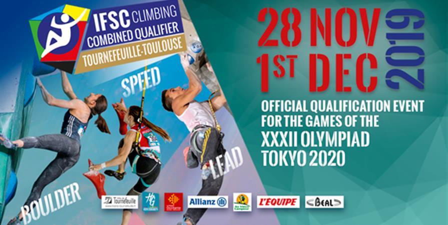 Tournoi de qualification olympique - Olympic Qualification Tournament - fédération française de la montagne et de l'escalade