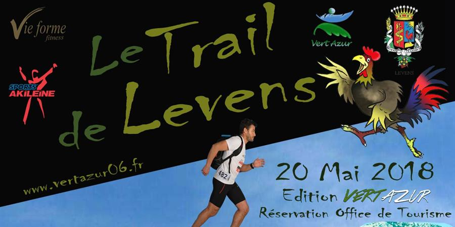 Trail de Levens Edition Vert Azur sans classement ni chronométrage - Vert Azur