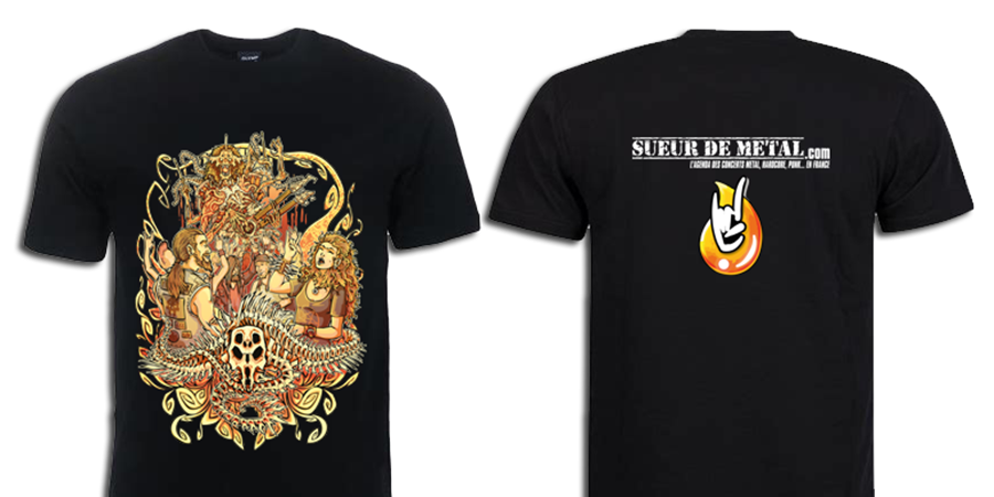 "T-SHIRT SUEURDEMETAL ""15 ANS"" - SOON TO BE DEAD"