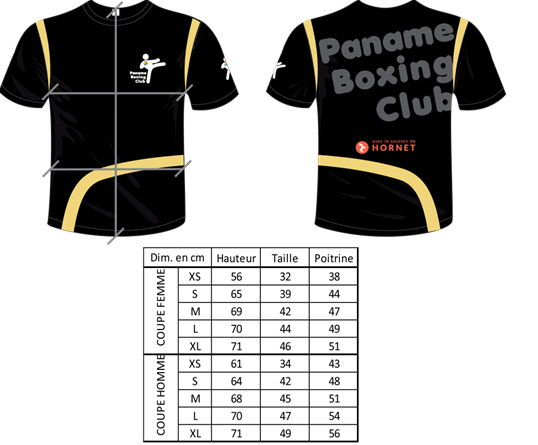 Tshirt - Paname Boxing Club