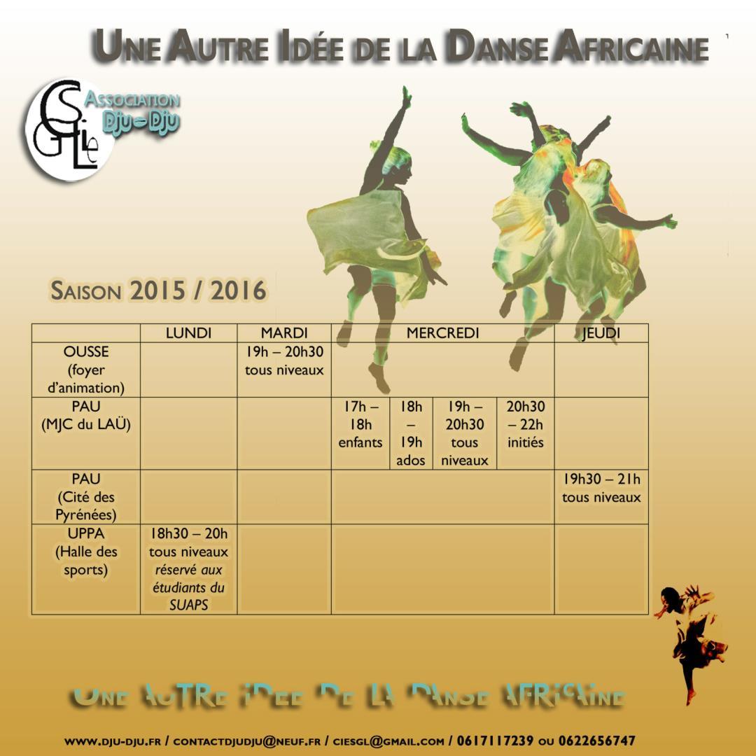 Une autre idée de la danse africaine - Compagnie Sophie Gamba-Lautier / Association Dju-Dju