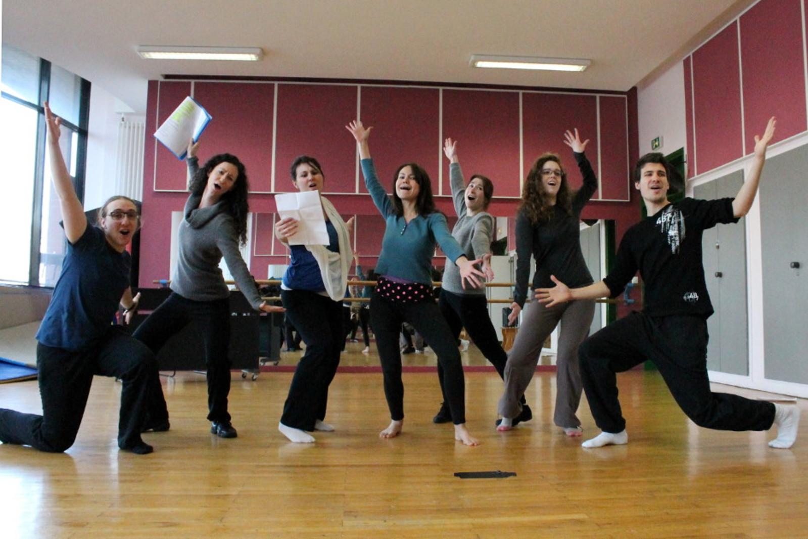 Atelier professionnel de formation à la comédie musicale - Les Inclassables