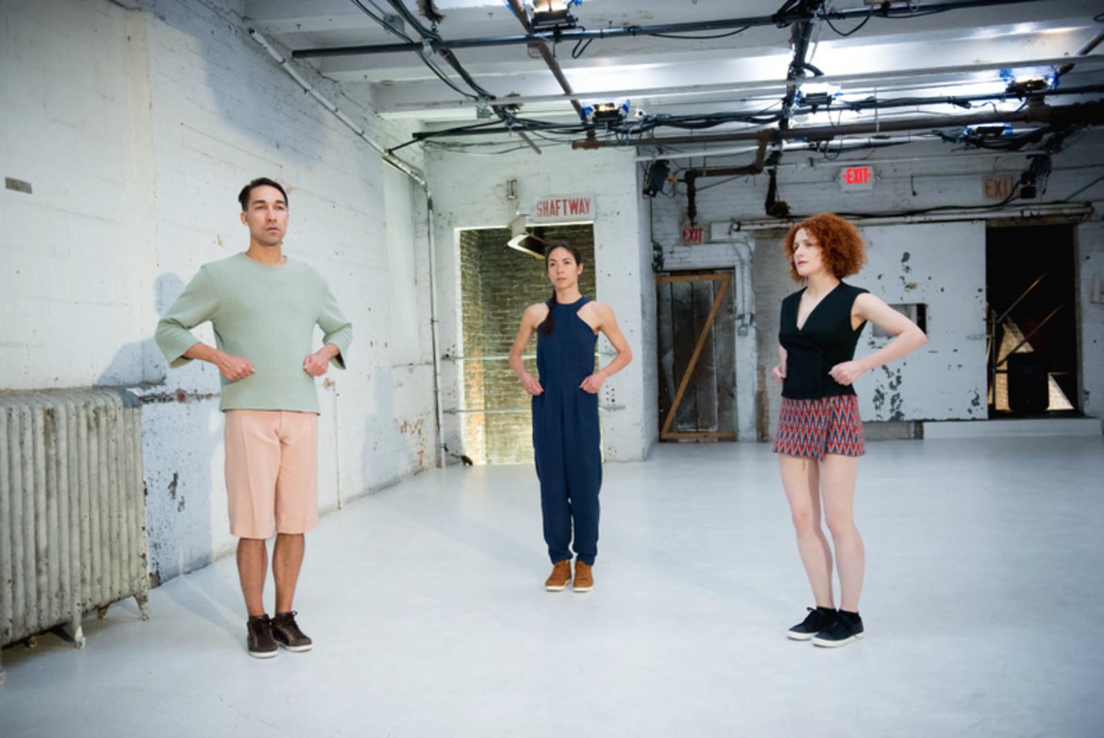 ++ Workshop danse avec Liz Santoro (Cie Le principe d'incertitude/Etats-Unis) - Ecole de Théâtre Physique
