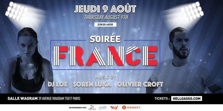 SOIREE FRANCE - Gay Games 10 - Association Fédération Sportive Gaie et Lesbienne