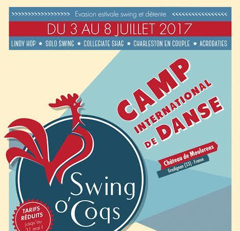 SWING O COQS CAMP 2017 (SOQ CAMP 2017) - Coqs Rouges