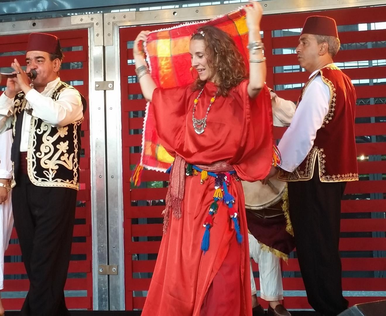 Sons et Corps d'Afrique du Nord, stage de danse avec musiciens - Cie Grain Magique