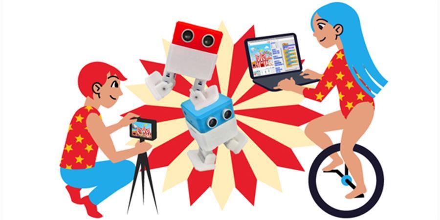 Les robots font leur cirque ! - Ateliers Geeks