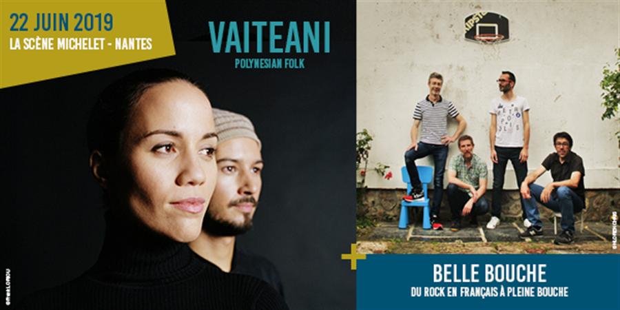 Vaiteani en concert // Première partie : Belle Bouche - Heirautini
