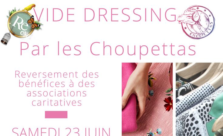 Vide Dressing  Humanitaire à Paris - Les Choupettas