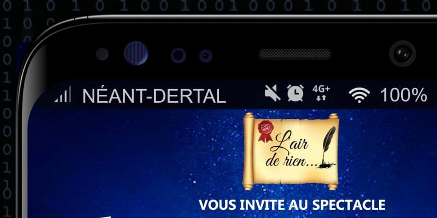 Spectacle Néant-Dertal  - L'air de rien