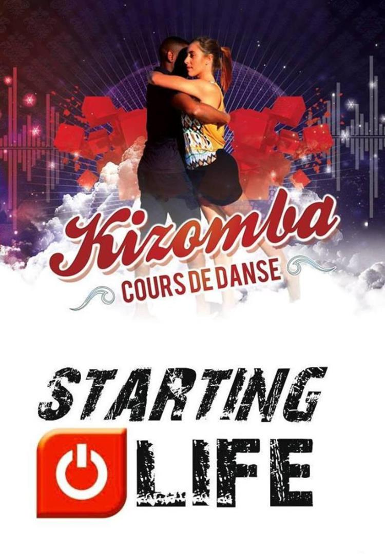 Stage découverte kizomba à STARTING LIFE - AMASEMBA