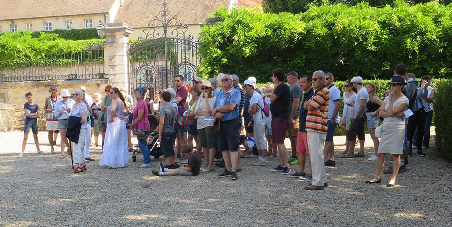 Visite guidée des Remparts de Beaune - 1er septembre 2019 - LES AMIS DES REMPARTS