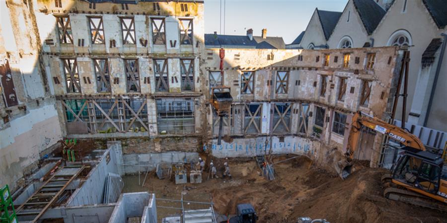 """Soirée """"Réseau Club"""" - 3 Septembre 2019 - Visite du chantier du cinéma - Club de développement économique du Pays fléchois"""