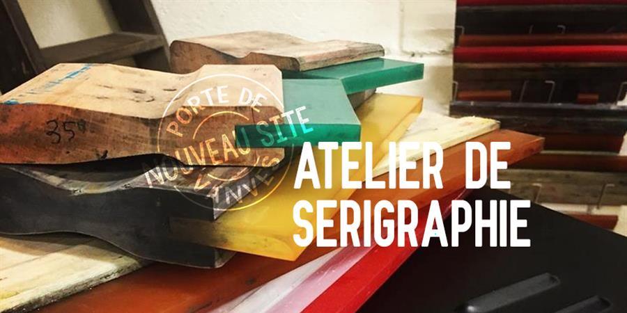 -> Initiation à la sérigraphie <- Novembre 2019 - La Grande Masse des Beaux-Arts