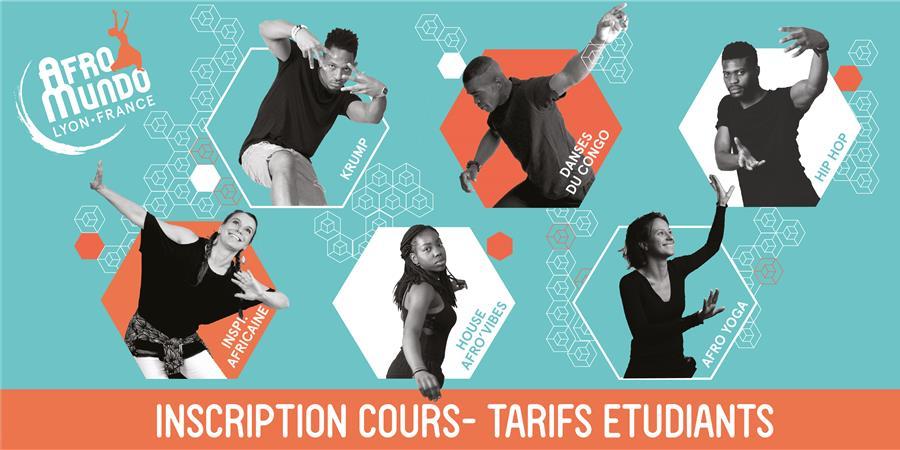 Inscription tarif étudiants - Centre AfroMundo