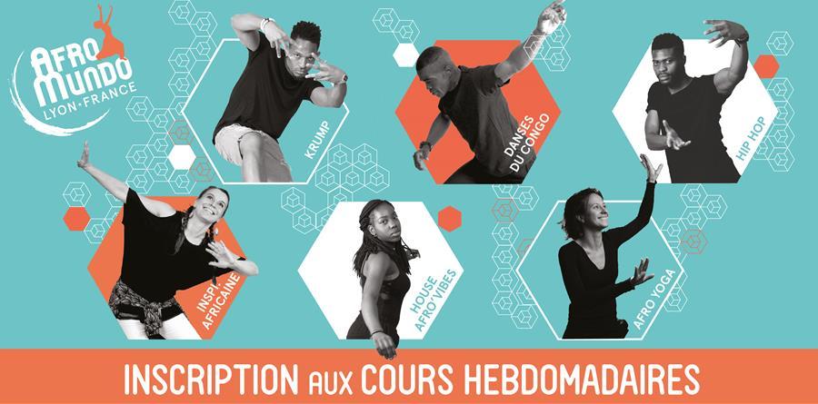 Pré-inscription abonnement annuel cours hebdomadaires 2019-20 - Centre AfroMundo