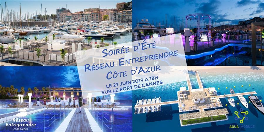 Soirée d'été Réseau Entreprendre - Reseau Entreprendre Cote d'Azur