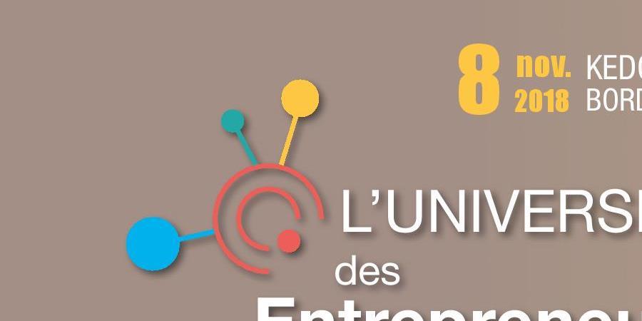 Université des Entrepreneurs 2018 - MEDEF Gironde