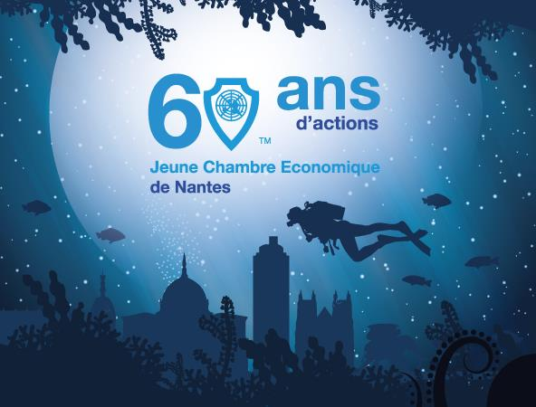 60 ans de la Jeune Chambre Economique de Nantes & Congrès Régional - La Jeune Chambre Economique de Nantes
