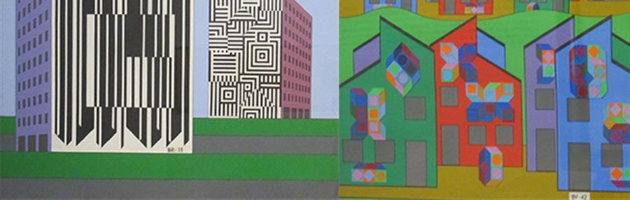 Art dans la Cité, Regards croisés : Vasarely, street art & numérique - FullStreetArt