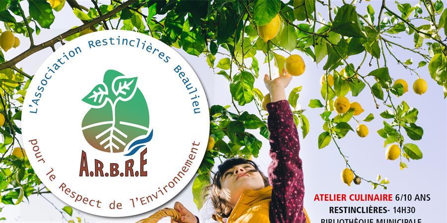 Atelier fruit pour les 6/10 ans à Restinclières - A.R.B.R.E.