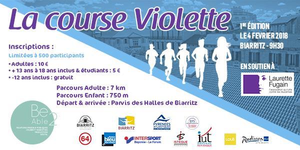 La Course Violette - Laurette Fugain