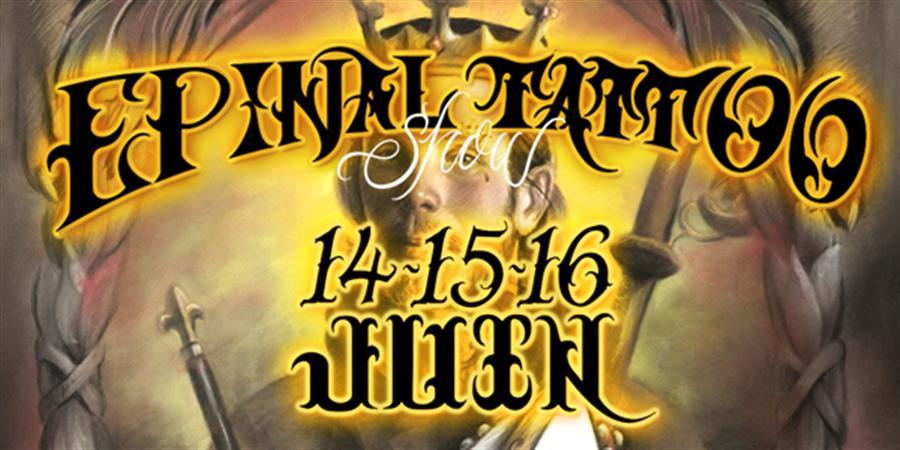 3ème édition de l'Epinal Tattoo Show - CLOCKWORKEVENT