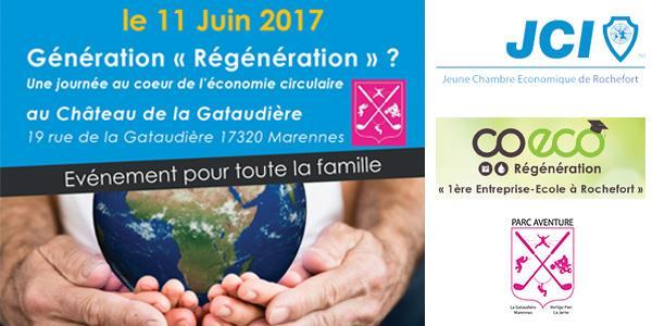 Journée Economie Circulaire : Génération « Régénération » ? - Jeune Chambre Economique de Rochefort