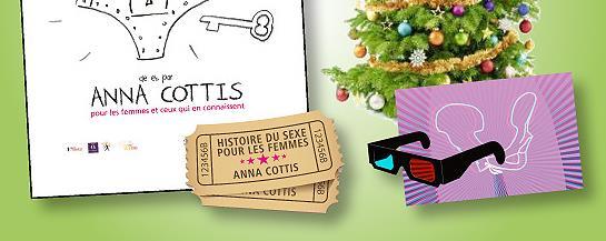 """""""L'histoire du sexe pour les femmes"""" pré-vente  - Les Ouvriers de Joie"""