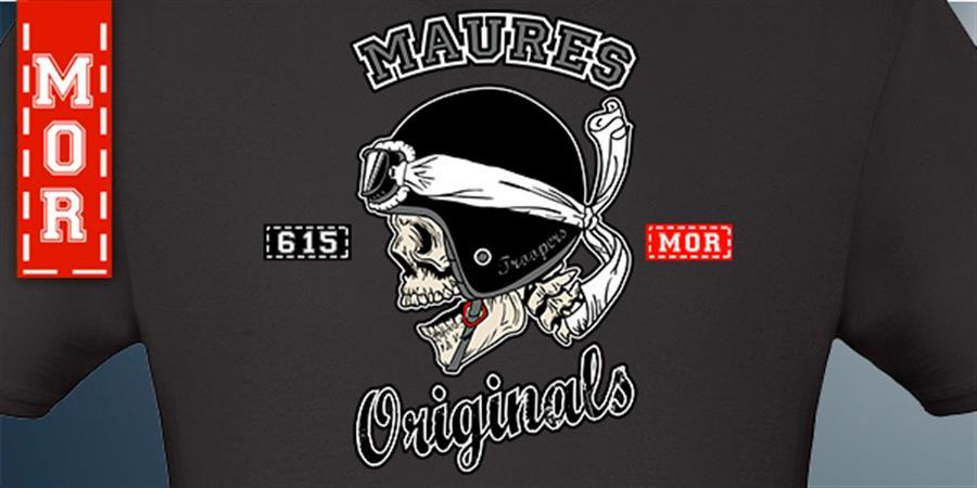 Tshirt MC MOR - Maures Originals