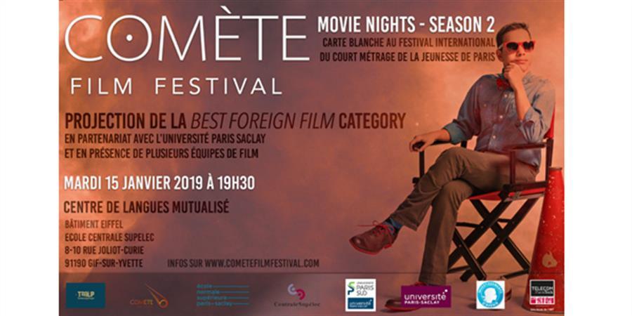 (Movie Nights #4) Comète Film Festival - Best Foreign Film Category - MAR 15/01 - TMLP Ciné Xanadu