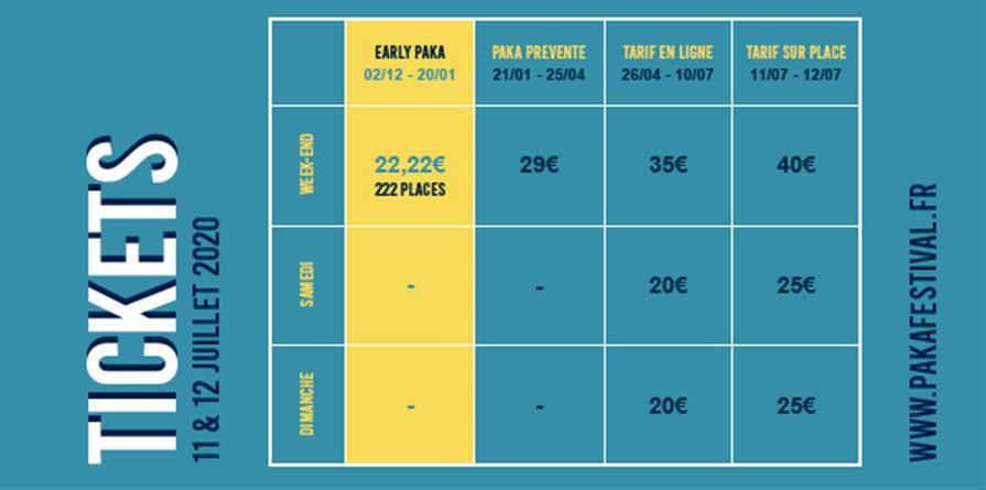 PAKA Festival 2020 : 2ème édition - Paradis Perdu - Aujourd'hui est une bonne journée