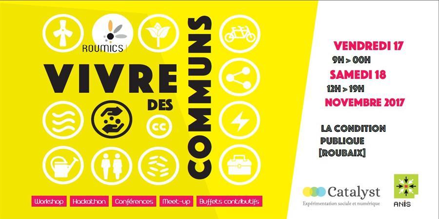 ROUMICS 2017 - Vivre des Communs - ANIS