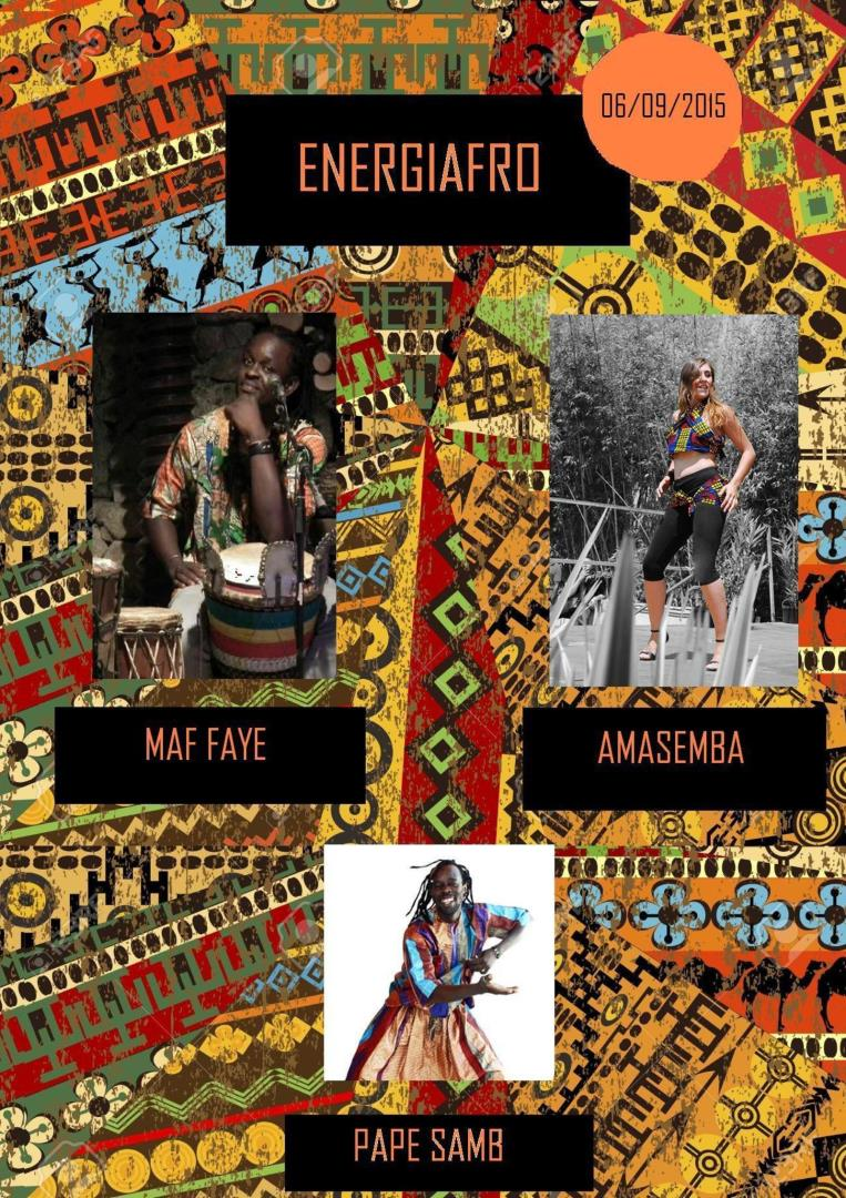 ENERGIAFRO - Stage de danses & percussions africaines - AMASEMBA