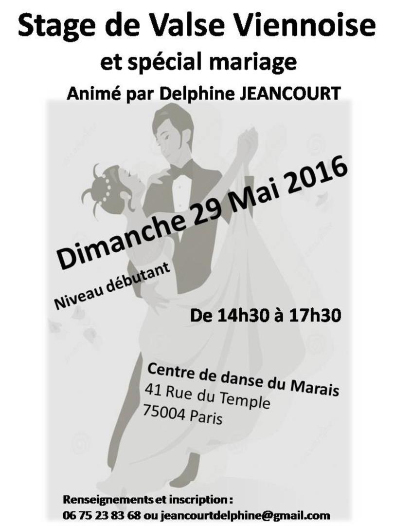 Stage de Valse Viennoise et spécial mariage - Delphine Jeancourt (Les Coeurs qui dansent)