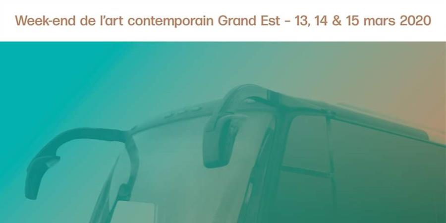 BUS 4 :  parcours bus de l'art contemporain - dim. 15 mars 2020 - INSCRIPTIONS - Versant Est