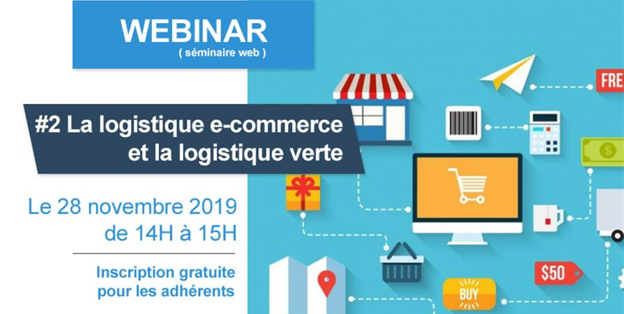 Billetterie Webinar #2 La logistique pour le e-commerce avec Greenlog - VEGAN FRANCE