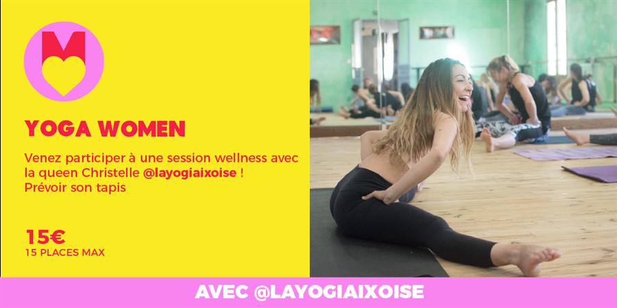 ATELIER YOGA WOMEN - @layogiaixoise @GIRLS POWER STORE 15/01/2020 - Les Premières Sud