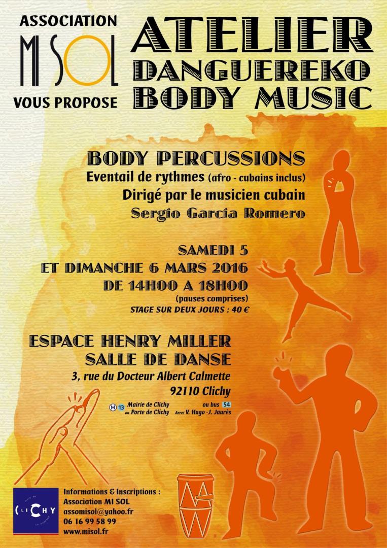 Percussion corporelle - MI SOL
