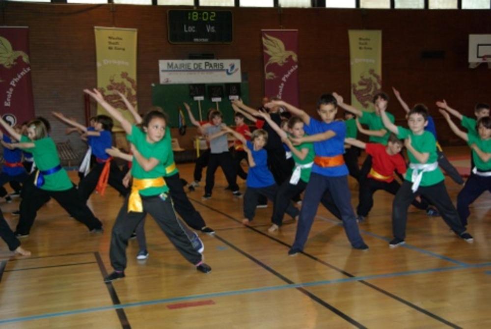Kung Fu pour enfants - Ecole Phenix et Dragon
