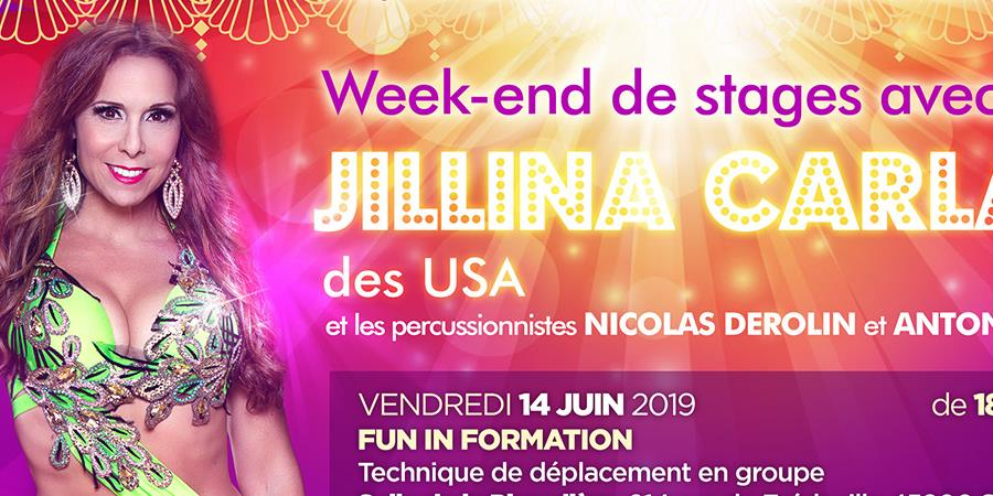 Spectacle Pleins feux sur Takassime + Stages avec Jillina Carlano - association Takassime danse orientale