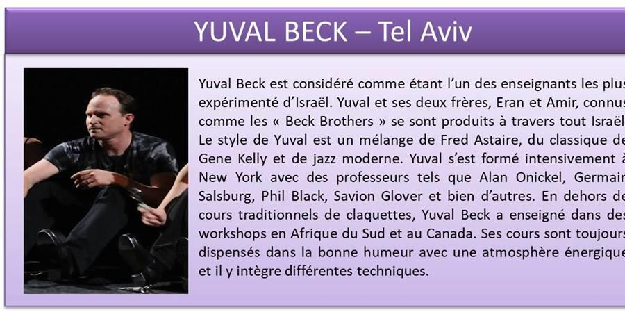 Stage Yuval Beck - Prise de Step